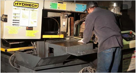 Industrial Bandsaw Services | Hyd Mech Band Saws & Band Saw